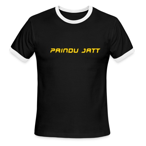 Paindu Jatt - Men's Ringer T-Shirt