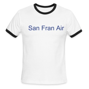 San Fran Air Ringer - Men's Ringer T-Shirt