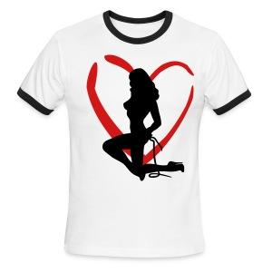 LOVE CONTROL - Men's Ringer T-Shirt