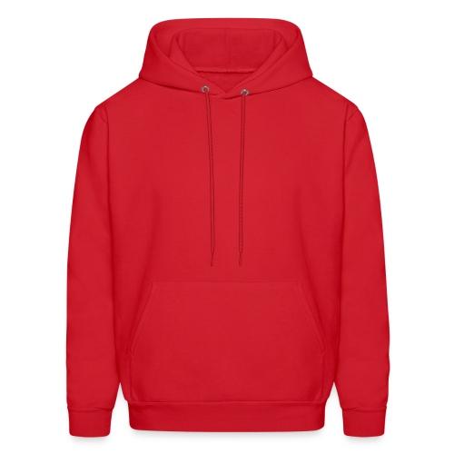 Red Hooded Sweatshirt - Men's Hoodie