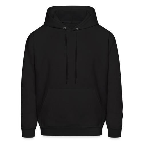 Black Hooded Sweatshirt - Men's Hoodie