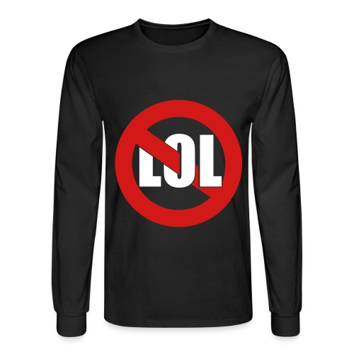Roffle Mayo (black) - Men's Long Sleeve T-Shirt