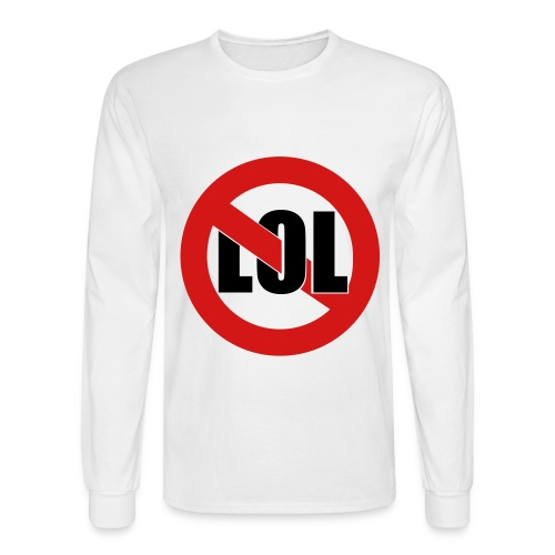 Roffle Mayo (white) - Men's Long Sleeve T-Shirt