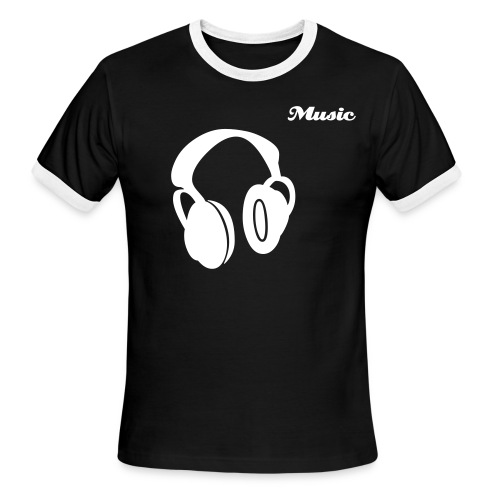 MUSIC - Men's Ringer T-Shirt