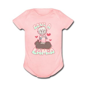 Love a Lamia Girl's Tee - Short Sleeve Baby Bodysuit