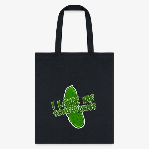 I Love Me Some Pickles Men's T-Shirt - Tote Bag