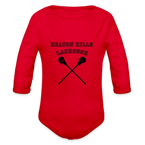 Beacon Hills Lacrosse - Tote Bag - Organic Long Sleeve Baby Bodysuit