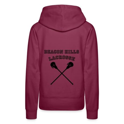 Beacon Hills Lacrosse - Tote Bag - Women's Premium Hoodie