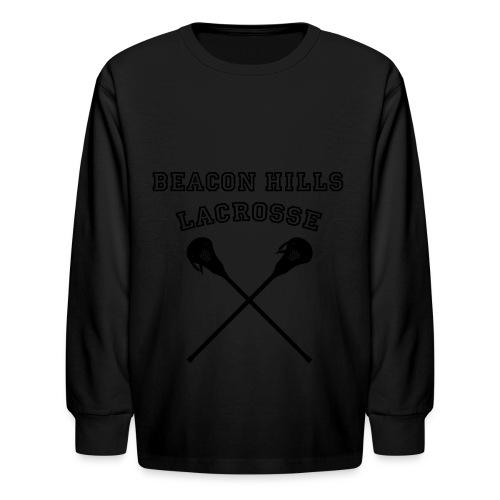 Beacon Hills Lacrosse - Tote Bag - Kids' Long Sleeve T-Shirt