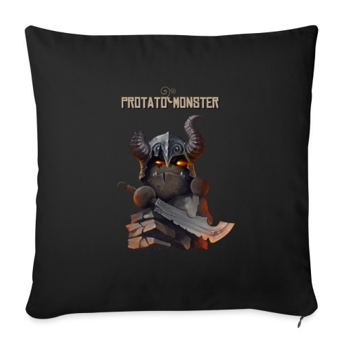 Protatomonster Classic - Throw Pillow Cover