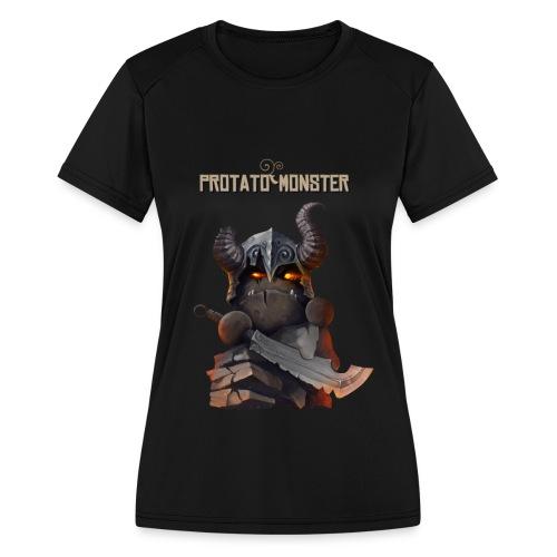 Protatomonster Classic - Women's Moisture Wicking Performance T-Shirt