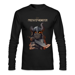 Protatomonster Classic - Men's Long Sleeve T-Shirt by Next Level