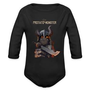 Protatomonster Classic - Long Sleeve Baby Bodysuit