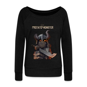 Protatomonster Classic - Women's Wideneck Sweatshirt