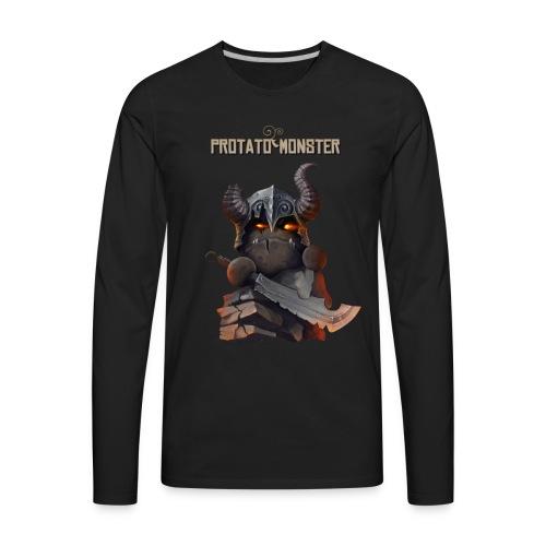 Protatomonster Classic - Men's Premium Long Sleeve T-Shirt