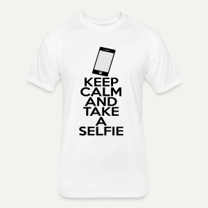 Selfie - Fitted Cotton/Poly T-Shirt by Next Level