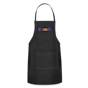 Safe or Out - Purple - Mens T-shirt - Adjustable Apron