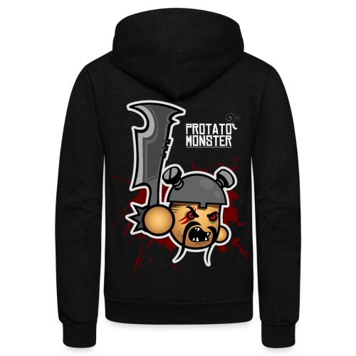 Protatomonster Draven - Unisex Fleece Zip Hoodie