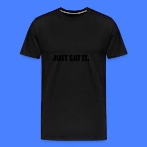 Just Eat It Caps - Men's Premium T-Shirt