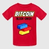 Kids Bitcoin Lego Block Chain T shirt - Kids' T-Shirt