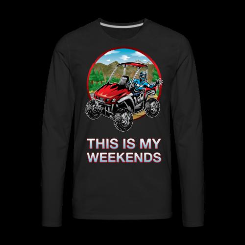 UTV Weekend Waver - Men's Premium Long Sleeve T-Shirt