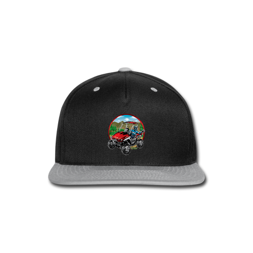 Mountain Side-x-Side - Snap-back Baseball Cap