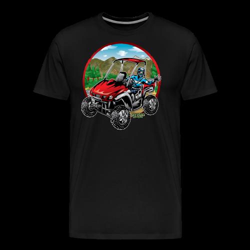 Mountain Side-x-Side - Men's Premium T-Shirt
