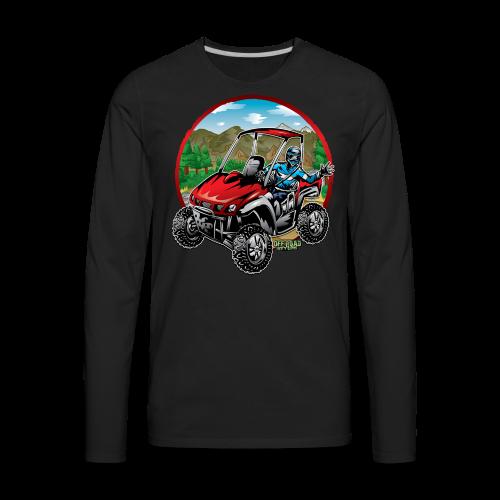 Mountain Side-x-Side - Men's Premium Long Sleeve T-Shirt