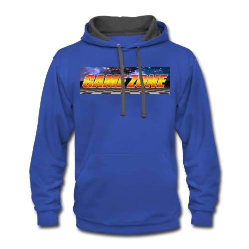 The Game Zone Marquee - Contrast Hoodie