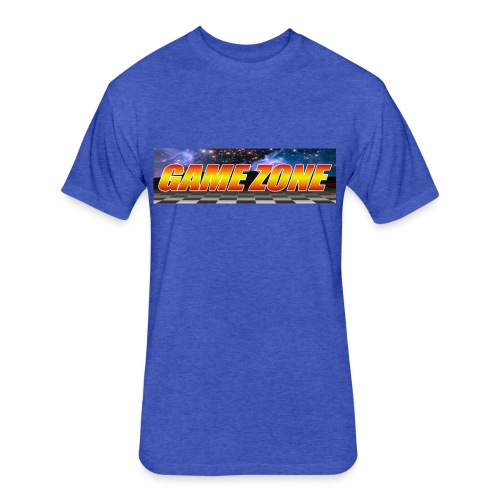 The Game Zone Marquee - Fitted Cotton/Poly T-Shirt by Next Level