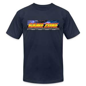 The Game Zone Marquee - Men's T-Shirt by American Apparel