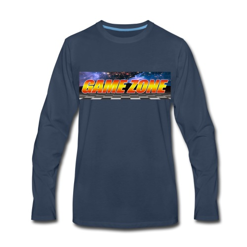 The Game Zone Marquee - Men's Premium Long Sleeve T-Shirt