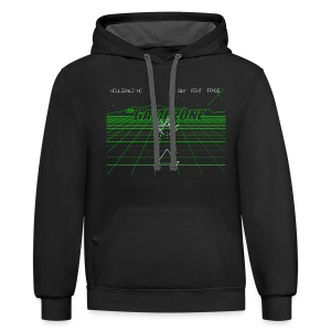 The Game Zone Vector Battle - Contrast Hoodie