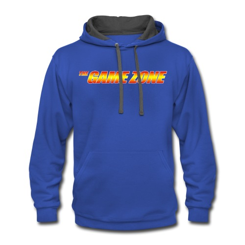 The Game Zone Logo - Contrast Hoodie