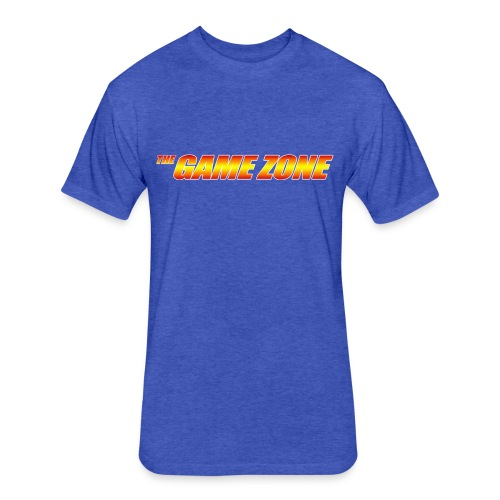 The Game Zone Logo - Fitted Cotton/Poly T-Shirt by Next Level