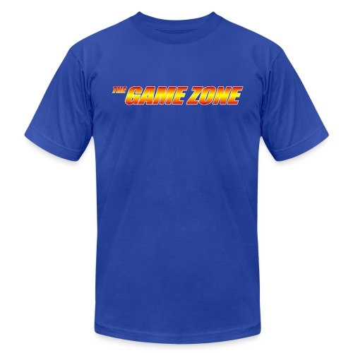 The Game Zone Logo - Men's Fine Jersey T-Shirt