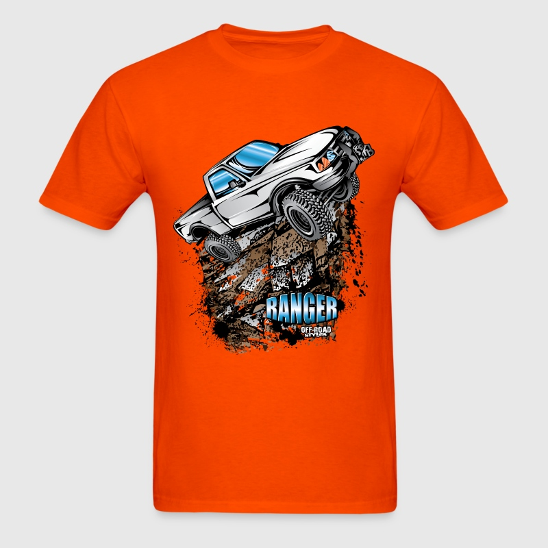 White Ford Ranger T-Shirt T-Shirts - Men's T-Shirt