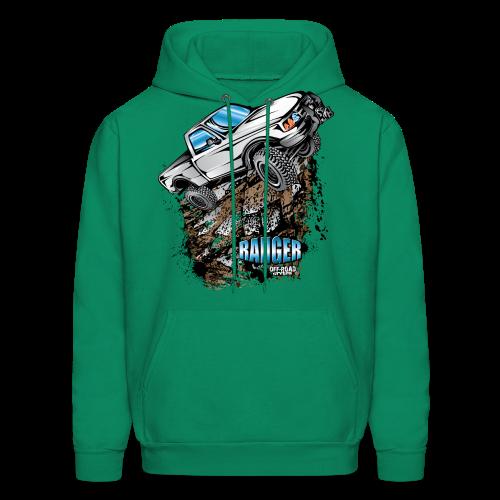 White Ford Ranger - Men's Hoodie