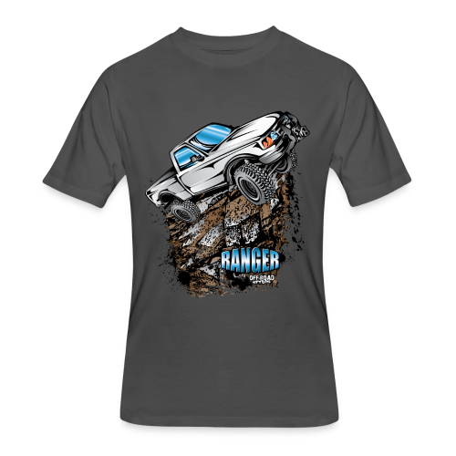 White Ford Ranger - Men's 50/50 T-Shirt