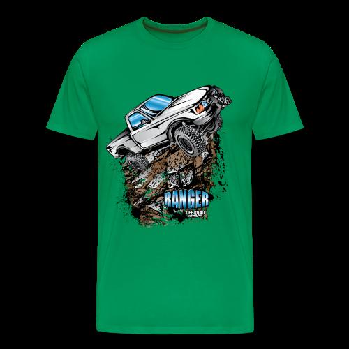 White Ford Ranger - Men's Premium T-Shirt