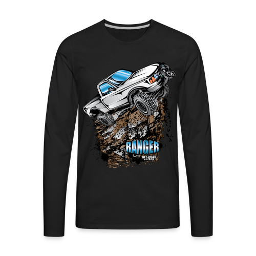 White Ford Ranger - Men's Premium Long Sleeve T-Shirt