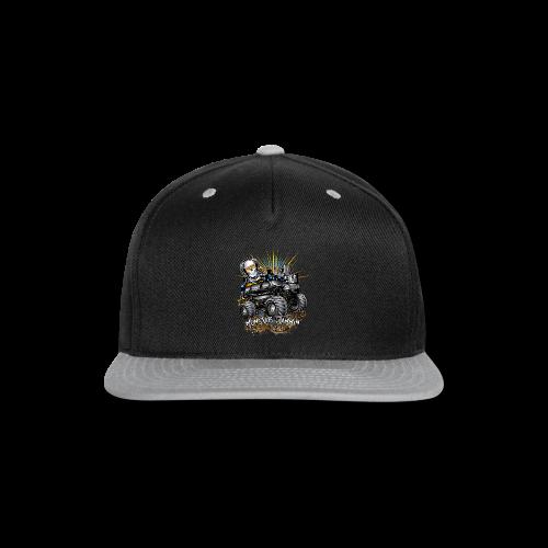 Monster Cadillac Escalade Shirt - Snap-back Baseball Cap