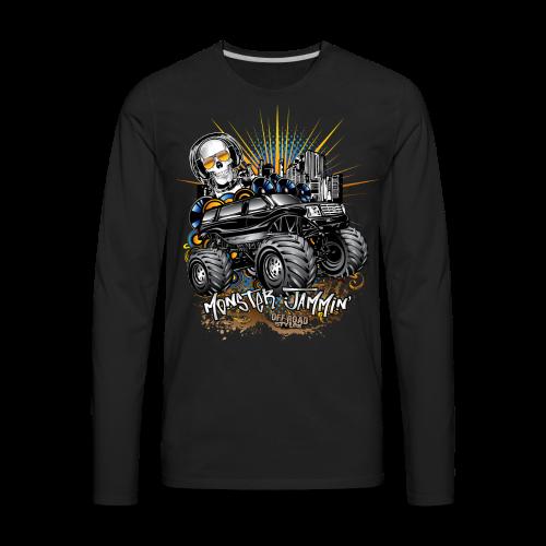 Monster Cadillac Escalade Shirt - Men's Premium Long Sleeve T-Shirt