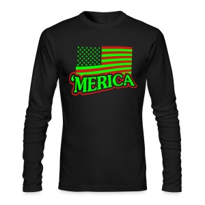 Merica Shirt - Men's Long Sleeve T-Shirt by Next Level