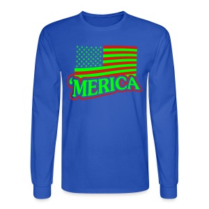 Merica Shirt - Men's Long Sleeve T-Shirt