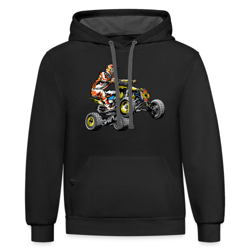 ATV Racing T-Shirt - Contrast Hoodie