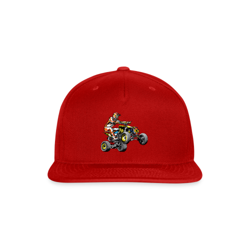 ATV Racing T-Shirt - Snap-back Baseball Cap