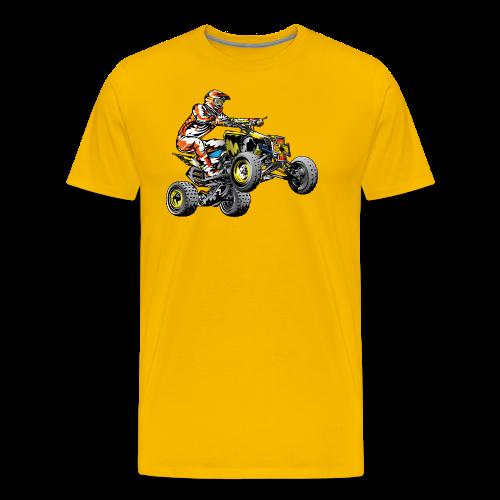 ATV Racing T-Shirt - Men's Premium T-Shirt