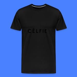 Celfie Caps - Men's Premium T-Shirt