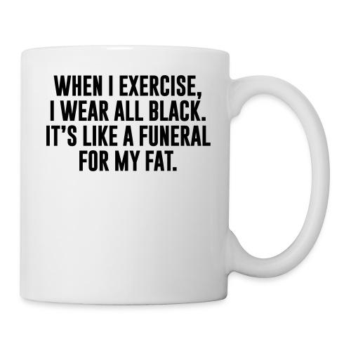 Fat Funeral Tee - Coffee/Tea Mug